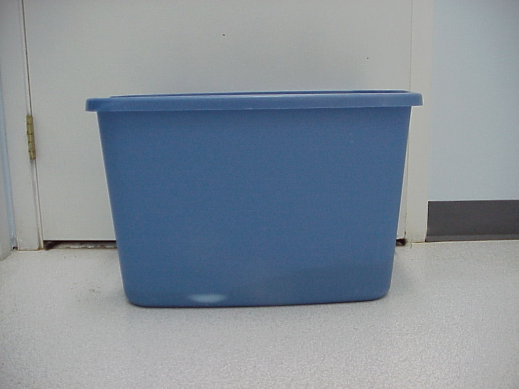 Image of converted litter box